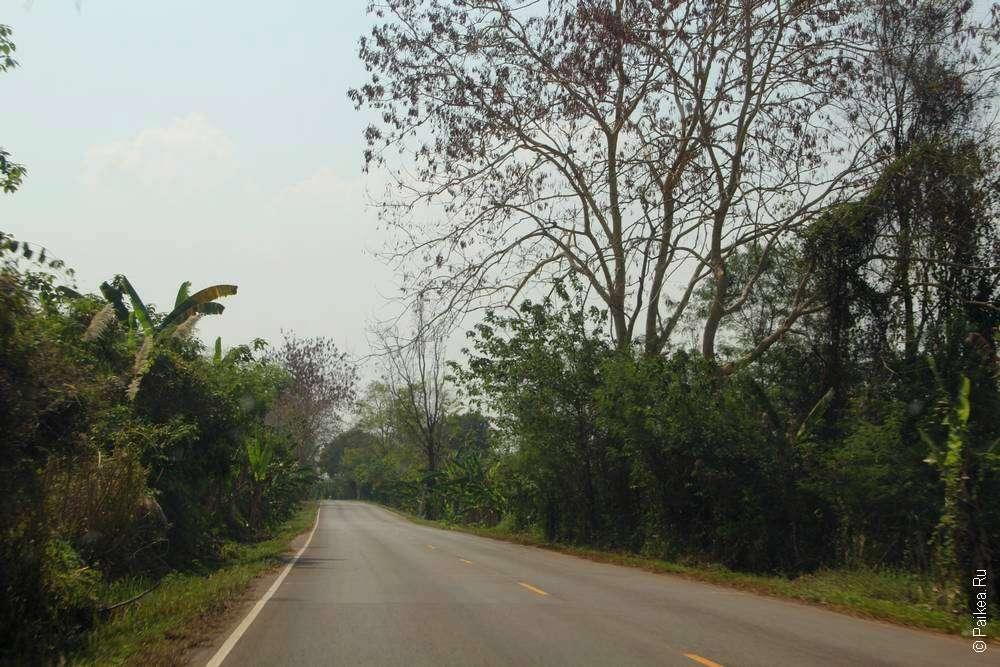 Дорога в северном Исане