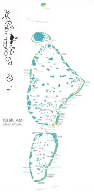 Карта Каафу