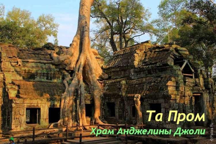 Та Пром, Ангкор, Камбоджа