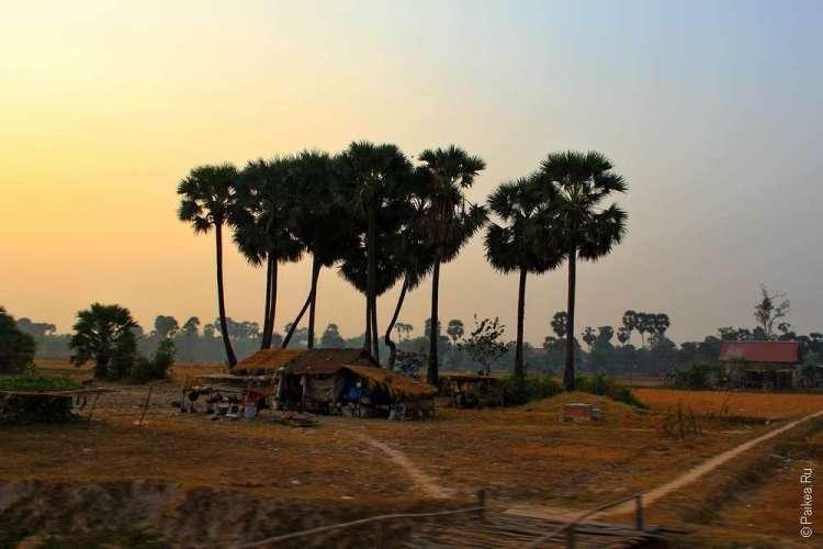 Сельская Камбоджа в сухой сезон / Cambodia