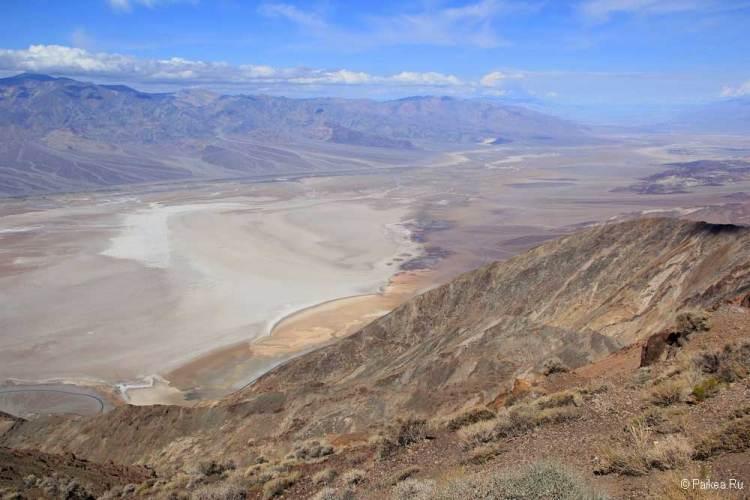 Долина Смерти, Данте Вью
