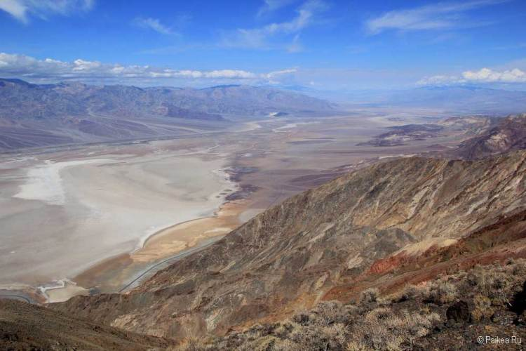 долина смерти на дне древнего озера