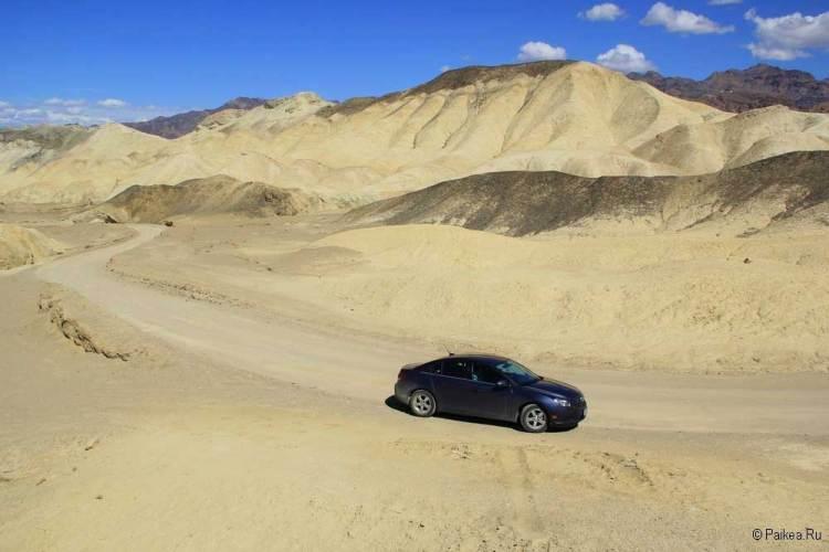 Долина Смерти самостоятельно