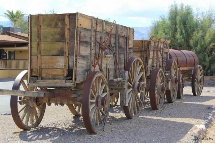 Повозка в Долине Смерти