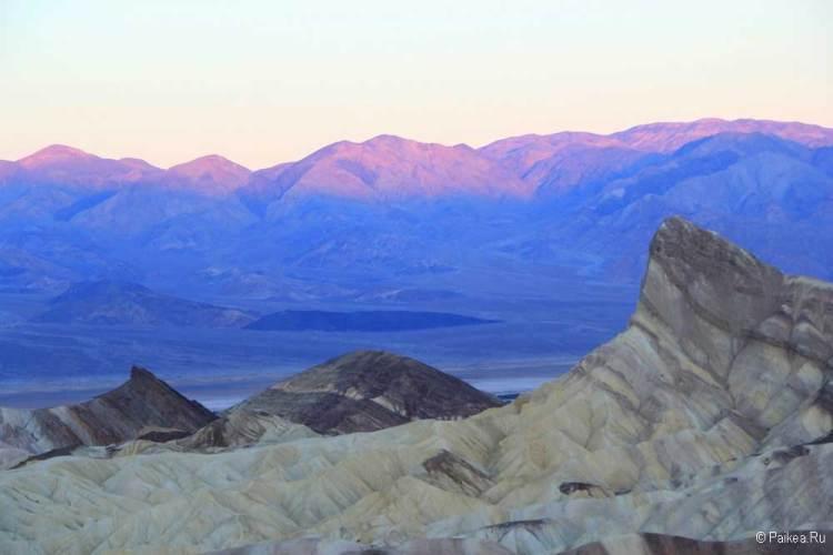 Горы Панаминт в Долине Смерти