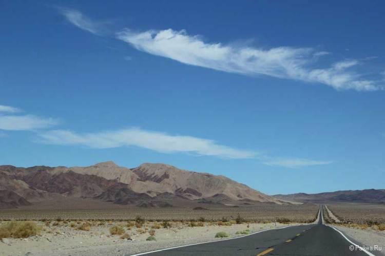 Дорога в парк Долина Смерти
