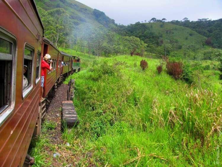 Поезд Шри-Ланка