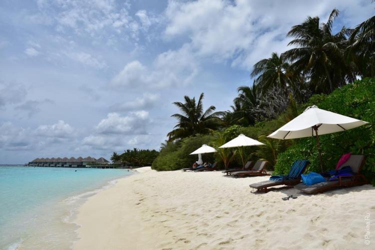 Пляжи Мальдив 25