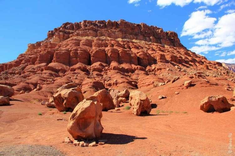 Скалы над Мраморным каньоном