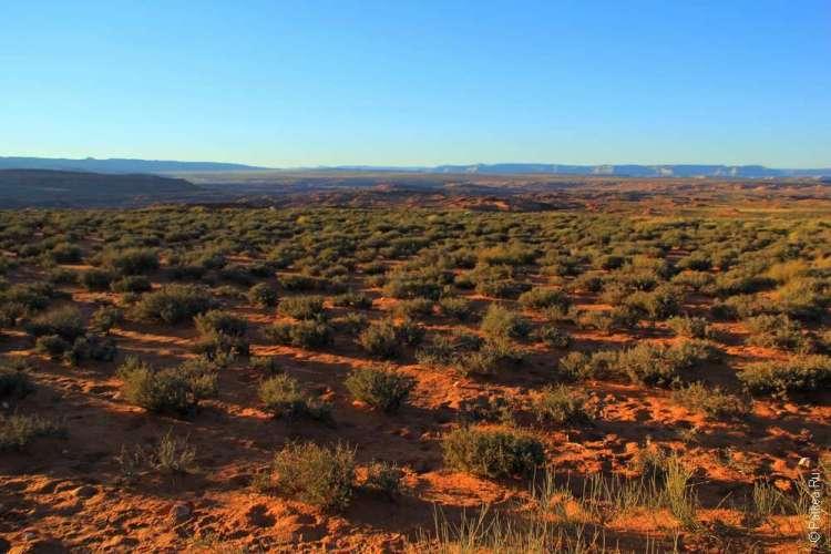 Ландшафт рядом с каньоном Подкова