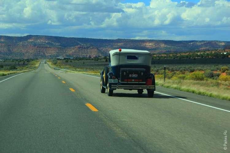 Путешествие по США на авто
