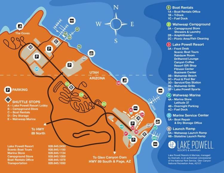 Карта района Уоуэп