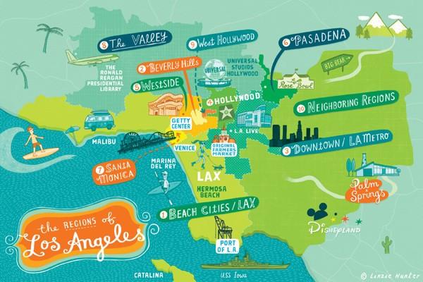 Самые престижные районы лос анджелеса аренда квартиры германии
