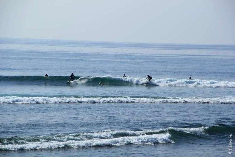 Лос-Анджелес серфинг