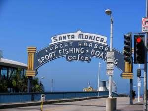 Портовая улица в Лос-Анджелесе