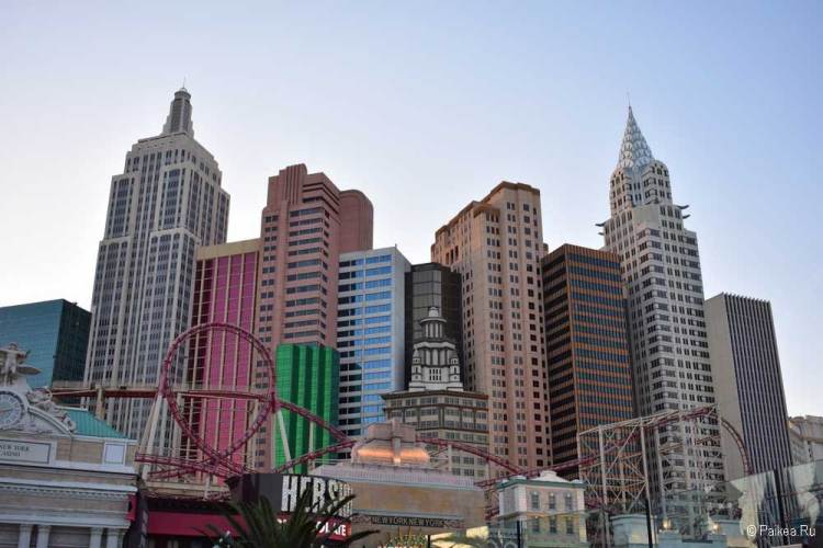 отель нью йорк в лас-вегасе