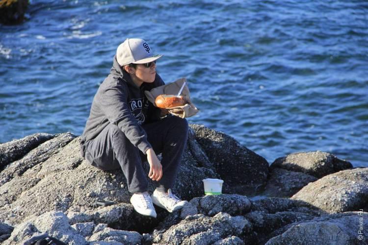 монтерей где поесть