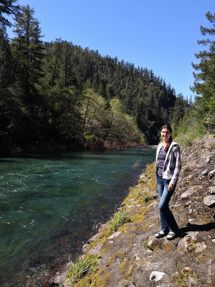 река смит весной