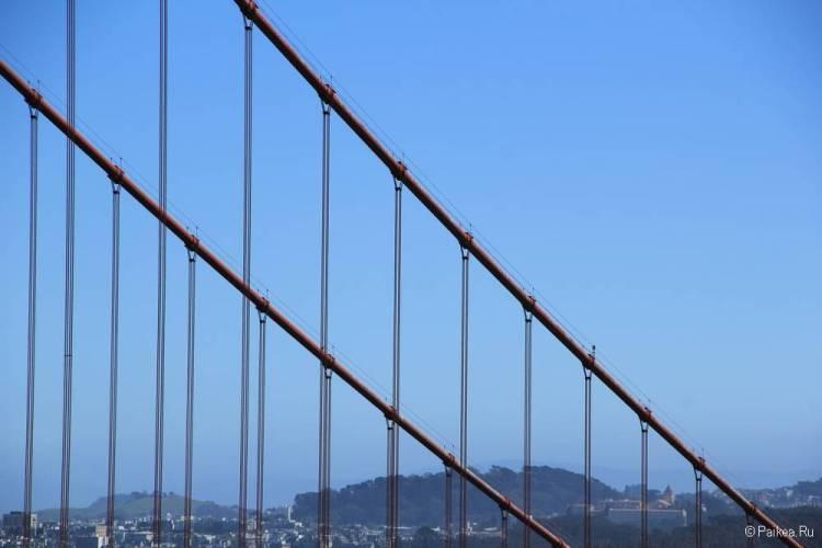 Мост Золотые Ворота в Сан-Франциско 27
