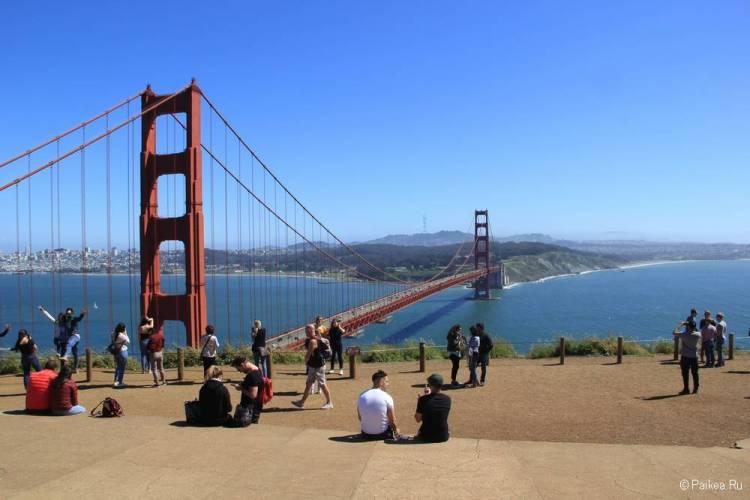 Лучший вид на Мост Золотые Ворота