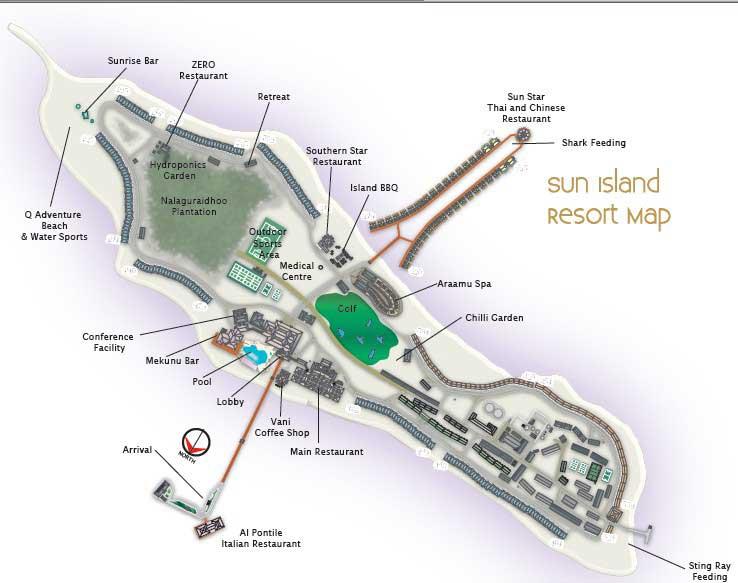 Остров Сан Айленд Мальдивы