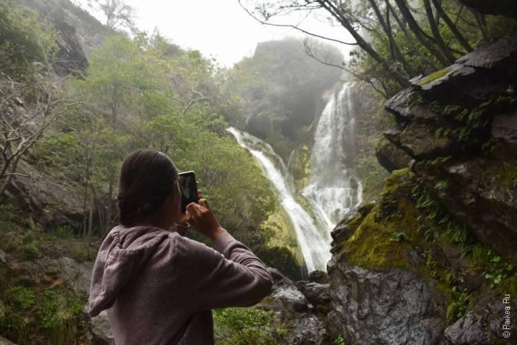 биг сюр водопад Салмон-Крик