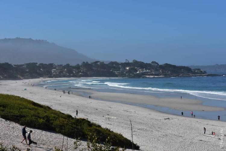 пляж кармел калифорния