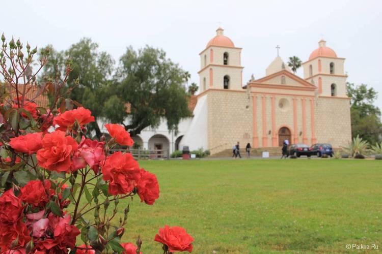 Миссия в Санта-Барбаре, Калифорния, США