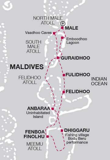 круиз на Мальдивах