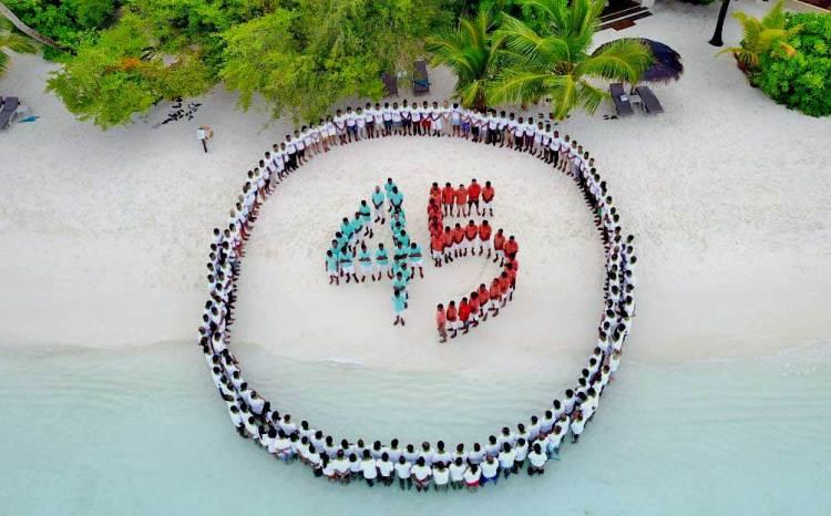 Курумба Мальдивы 45 лет