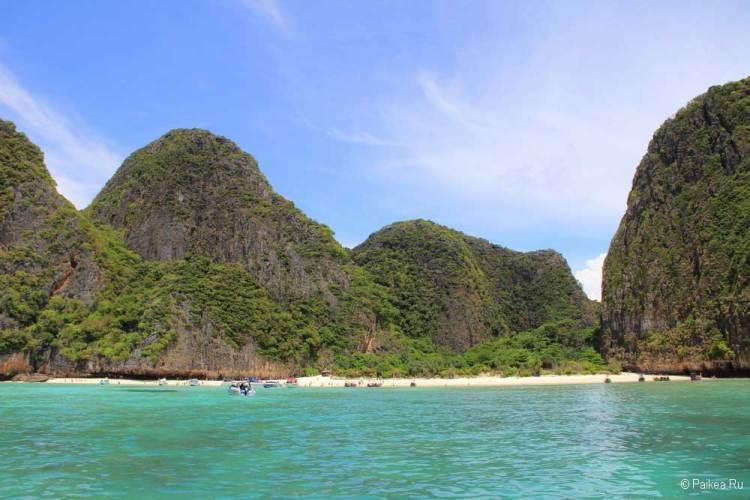 пляж майя бэй