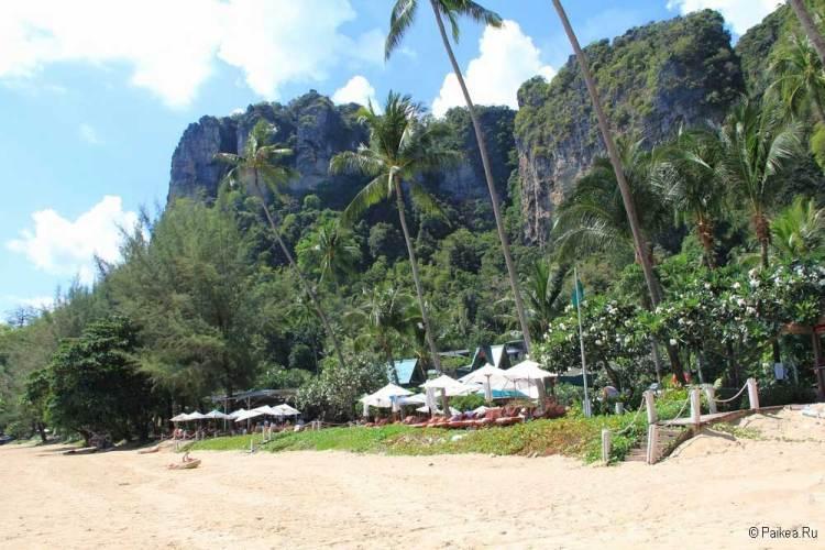 Пляж отеля Центара Гранд Краби Таиланд
