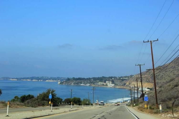 красивая дорога из лос-анджелеса в сан-франциско