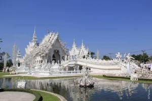 достопримечательности таиланда белый храм