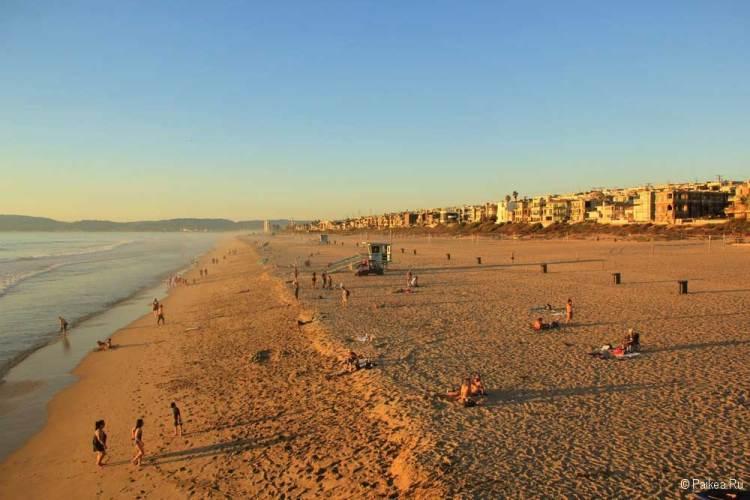 пляж манхэттен бич