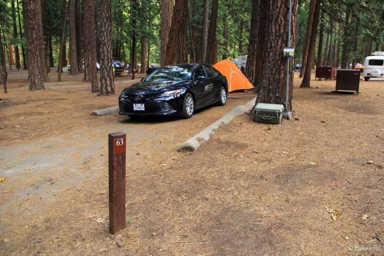 правила посещения национальных парков сша ограничения covid / кемпинг в долине йосемити