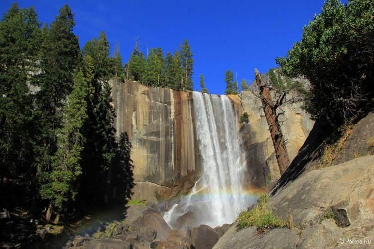 йосемити водопад вернал