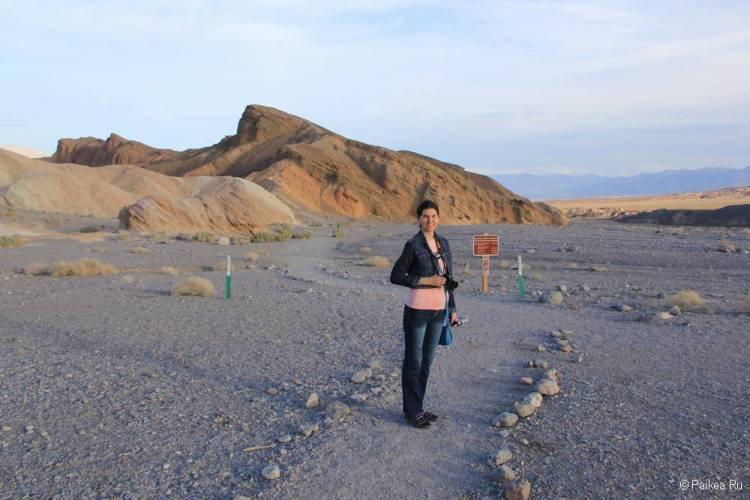 Бэдленд-луп долина смерти калифорния сша