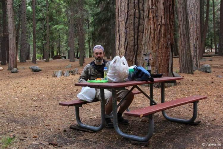 кингс каньон кемпинг Sentinel Campground
