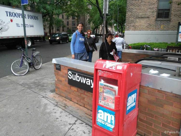 метро в нью-йорке