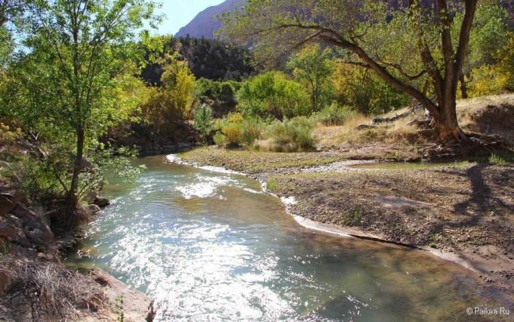зайон река virgin