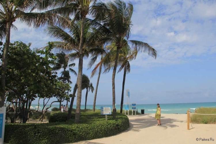 Майами пляж