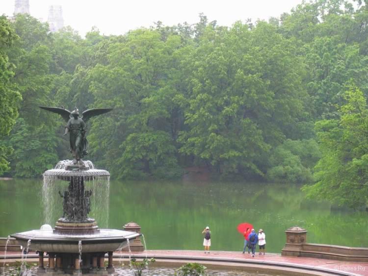 Достопримечательности Нью-Йорка что посмотреть фотнтан