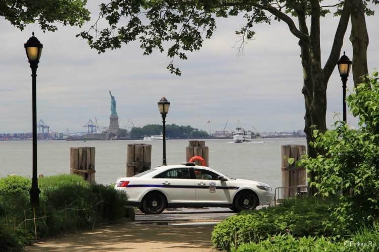 Достопримечательности Нью-Йорка что посмотреть Бэттери парк