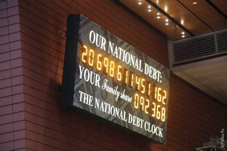 Счетчик национального долга США