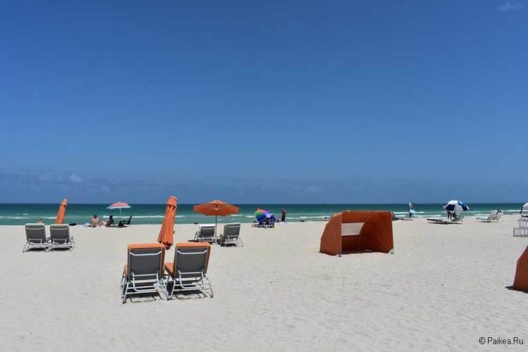 Майами пляжи отдых