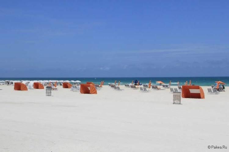Лучший пляж в Майами