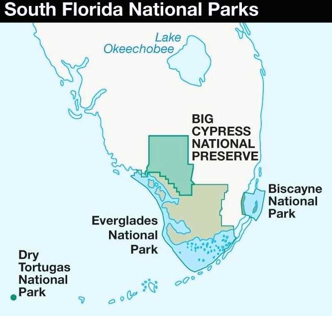 парки южной флориды