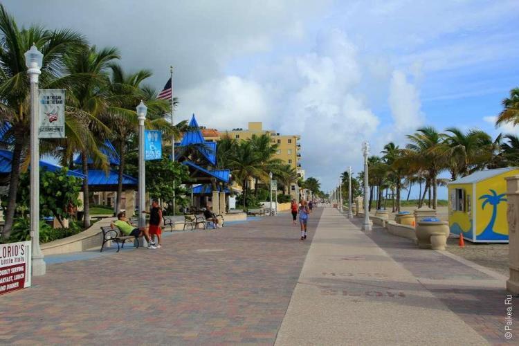Достопримечательности Флориды променад