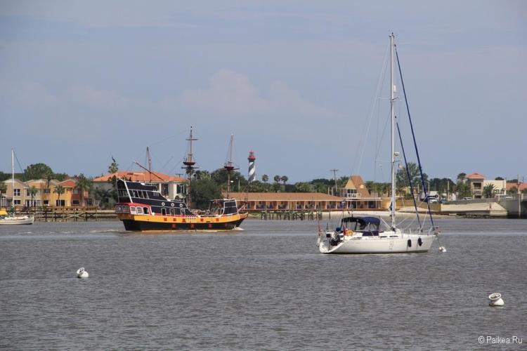 Достопримечательности Флориды - исторические города